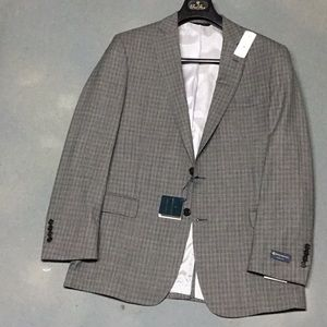Awesome Grey Plaid All Season Blazer